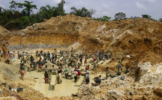 mining problems in ghana