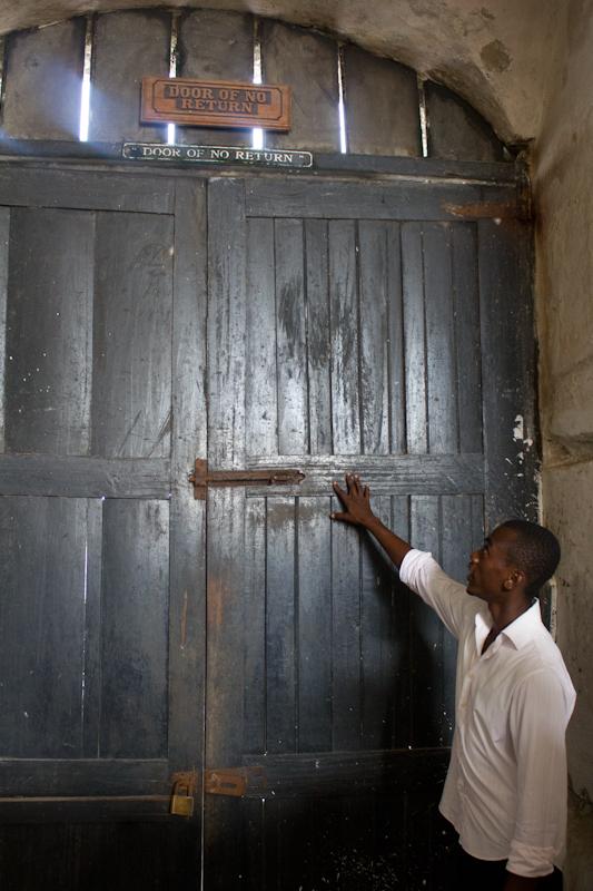 Elmina castle the door of no return business day ghana for Door of no return