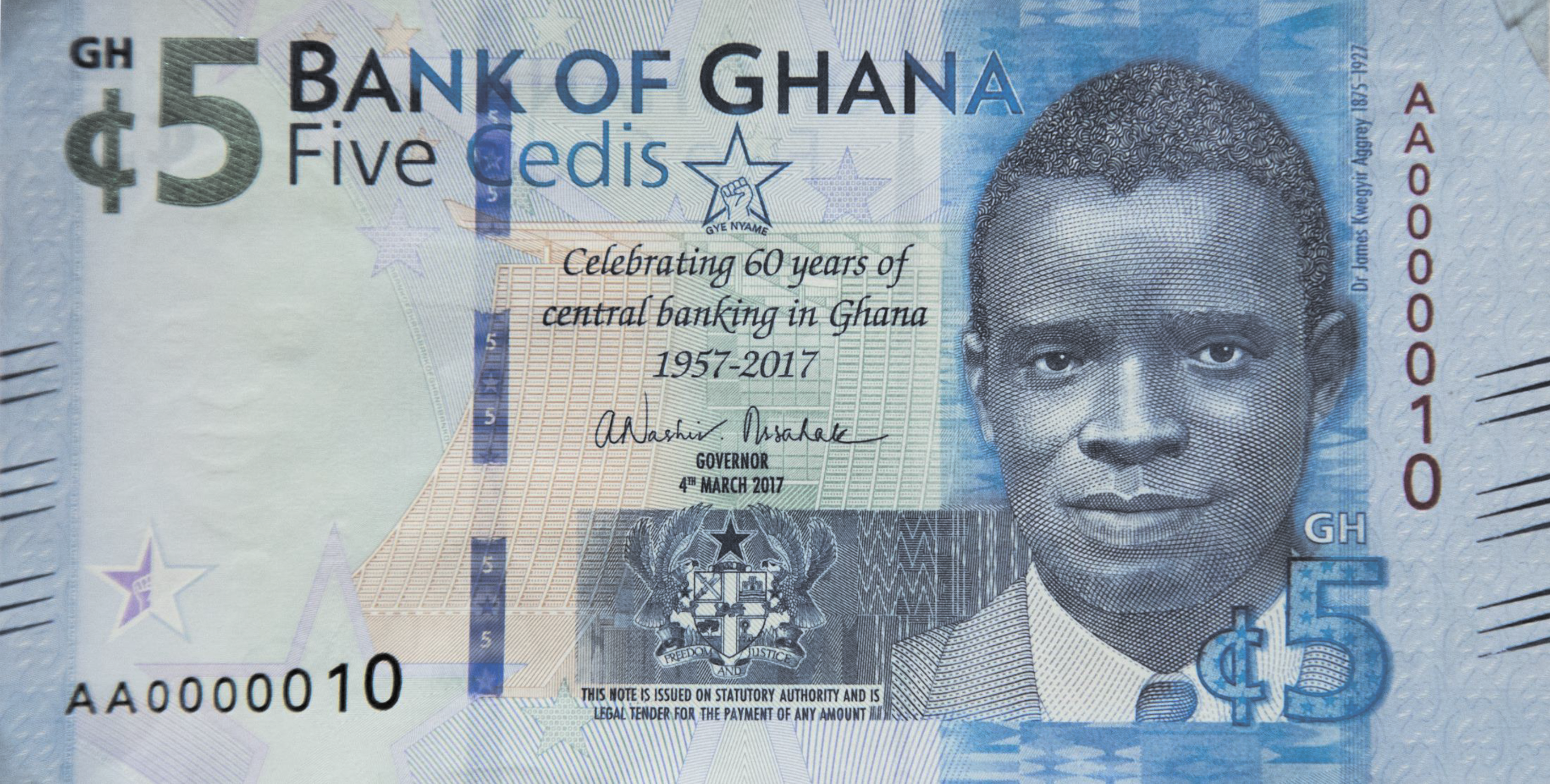 You Can T Refuse Ghana Pesewa Coins Bog Directs As It Unveils New Ghs5 Note Business Day Ghana