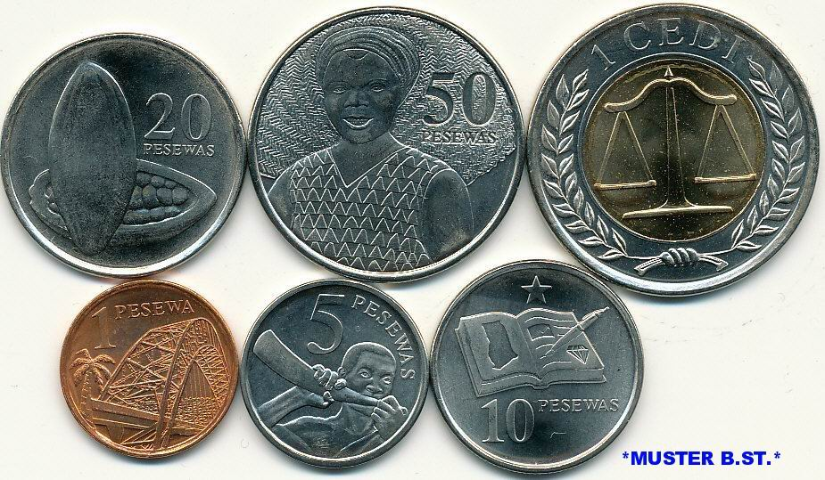 Image result for money ghana coins