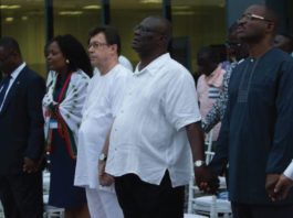 The Management and staff of the Ghana Community Network Services (GCNet) have held their fifth annual thanksgiving service to appreciate God for successful business operations in 2017.