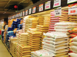 Local markets dominated by foreign rice