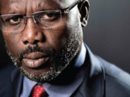 George Weah to rebuild Liberia